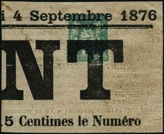 Oblit./fragment N°62 2c Vert Obl Typo S/fgt - TB - 1876-1878 Sage (Type I)