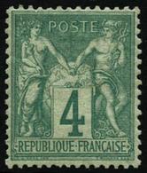 ** N°63 4c Pièce De Luxe - TB - 1876-1878 Sage (Type I)