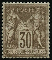** N°69 30c Brun-clair, Pièce De Luxe - TB - 1876-1878 Sage (Type I)
