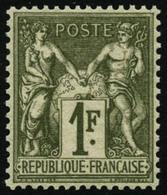 ** N°72 1F Bronze, Pièce De Luxe - TB - 1876-1878 Sage (Type I)