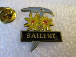 PIN'S    SALLENT  ESPAGNE - Villes