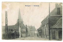 Wortegem: Kerkstraat  (2 Scans) - Wortegem-Petegem