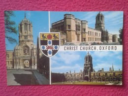 POSTAL POST CARD REINO UNIDO UNITED KINGDOM CHRIST CHURCH OXFORD IGLESIA....CARTE POSTALE VER FOTOS Y DESCRIPCIÓN....... - Reino Unido