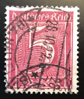 Mi. 177 = 260€ Geprüft Weinbuch BPP: 1921 5 Pf Seltenes Wz Waffeln Gestempelt(Deutsches Reich Infla Briefmarke Inflation - Allemagne