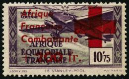 ** N°29 + 200F Sur 10F75, Signé Brun - TB - A.E.F. (1936-1958)