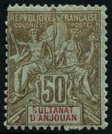 * N°14/19 La Série - TB - Anjouan (1892-1912)