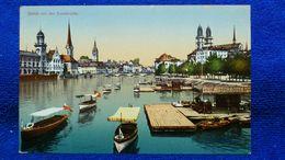 Zürich Von Der Quaibrücke Switzerland - ZH Zurich