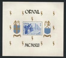 Belgium 1941 Orval S/S OCB BF 11 ** - Blocs 1924-1960