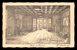 94 - SAINT-MAUR - CHALET DE CHAMPIGNOLLES, DANCING RESTAURANT  - DESSIN DE L. PAYEN - Saint Maur Des Fosses