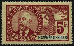 * N°1/17 La Série - TB - Opper-Senegal En Niger (1904-1921)