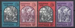 Colonie Britannique ANTIGUA Série Complète 1971 MNH - Ohne Zuordnung