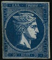 (*) N°37 20l Bleu - TB - Grèce