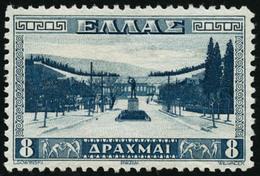 ** N°404 8d Bleu - TB - Grèce