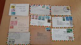 Enveloppes Boliviennes Distribuées Avec Beaucoup De Timbres - Bolivie