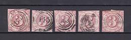 Thurn Und Taxis - 1862/64 - Michel Nr. 32 - Gest. - 90 Euro - Thurn Und Taxis