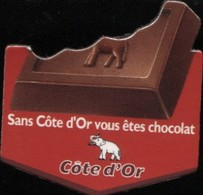 MAGNET COTE D'OR CHOCOLAT - Magnets