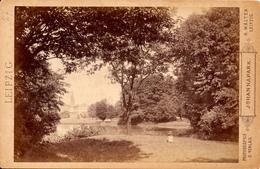 Leipzig, Johannapark, H.Walter,Leipzig, Kabinet Format - Fotos