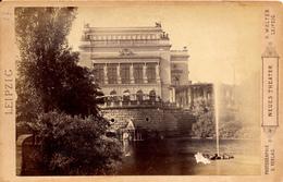 Leipzig, Neues Theater, H.Walter,Leipzig, Kabinet Format - Fotos