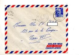 Lettre Cachet Basse Terre Guadeloupe Sur Gandon - Storia Postale