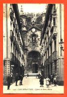 """CPA San Sebastian """" Iglesia De Santa Maria """" - Spagna"""