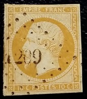 050 - 13 A - PC 1209 Estissac Aube 09 - 1853-1860 Napoleon III