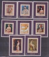 C22. Manama - MNH - Art - Painting - Portrait Paintings - Deluxe - Imperf - Art