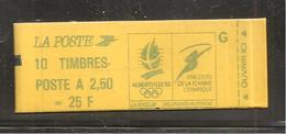 France, 2715-C5B, Daté, Confectionneuse 6, Carnet Neuf, Non Ouvert, TTB, Albertville 92, Carnet Marianne De Briat - Booklets