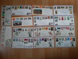 1000 Belege , Postkarten Und Ansichtskarten - Briefmarken