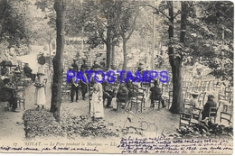 129705 FRANCE ROYAT THE PARK DURING MUSIC CIRCULATED TO RUSSIA BREAK POSTAL POSTCARD - Francia