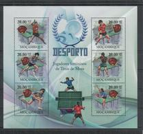 D744. Mozambique - MNH - 2010 - Sport - Table Tennis - Stamps