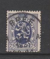 COB 288 Oblitération Centrale BREE - 1929-1937 Heraldic Lion