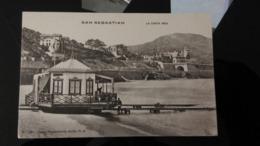CPA - SAN SEBASTIAN - LA CASITA REAL - España