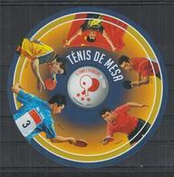 F744. S.Tome E Principe - MNH - 2013 - Sport - Table Tennis - Bl - Stamps