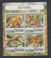 N744. Guinee - MNH - 2016 - Nature - Fauna - Wild Animals - Tigers - Plants