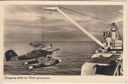 DR - Kriegsmarine Flugzeug Bordnahme Sw-Fotokarte Feldpost 14059 N. München 1941 - Germany