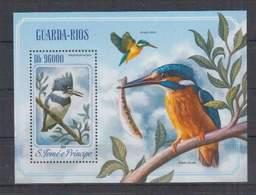 P744. S.Tome E Principe - MNH - 2014 - Nature - Fauna - Animals - Birds - Bl - Pflanzen Und Botanik