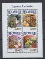 S963. Mozambique - MNH - 2013 - Nature - Fauna - Butterflies - Mushrooms - Pflanzen Und Botanik
