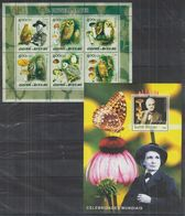 T963. Guinea - Bissau - MNH - Nature - Birds - Mushrooms - Famous People - Plants