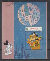 Z742. St Vincent - MNH - Cartoons - Disney's - Characters - Christmas - 2 - Disney