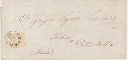 "ITALIE : N° 1 . DE "" NAPLES ""  . TB . 1863 . ( CATALOGUE YVERT ) . - 1861-78 Victor Emmanuel II"