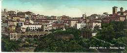 ANAGNI -ROMA -PANORAMA NORD -VIAGG. ACQUERELLATA FORMATO 9X21 - Roma
