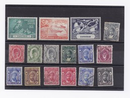 LOT DE TIMBRE DE ZANZIBAR - Zanzibar (1963-1968)