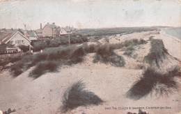 CAISTER-ON-SEA - CLIFFS & WARREN ~ AN OLD POSTCARD #20253 - England