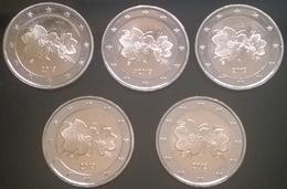 Finlande - 2 Euros (x5) - 2019 (pièce Courante - UNC) - Finlande