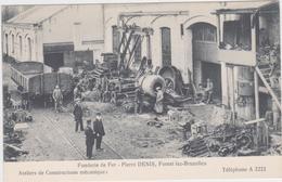 Staalgieterij Pierre Denis, Vorst (Brussel) - Postcards