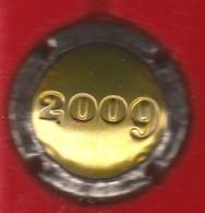 Capsule Champagne Union De Saint Gall N° 26 Estampée 2009, Or, Logo Noir Au Verso - Champagne