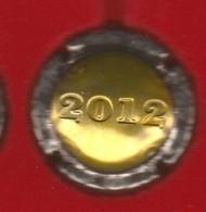 Capsule Champagne Union De Saint Gall N° 26b Estampée 2012, Or, Logo Noir Au Verso - Sonstige