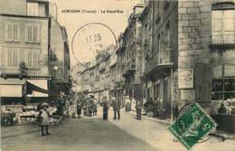 CREUSE  AUBUSSON  LA GRANDE RUE - Aubusson