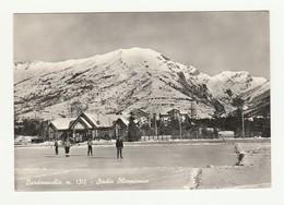 Cartolina Viaggiata 1959 - BARDONECCHIA - STADIO OLIMPIONICO - PIEMONTE Postcard - Stadiums & Sporting Infrastructures