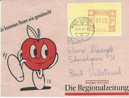 Timbre D'entreprise, Obl. Uster 26.11.90, - Zwitserland